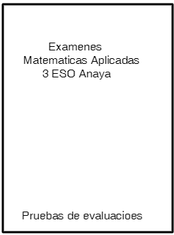Examenes Matematicas 3 Eso Anaya Pdf