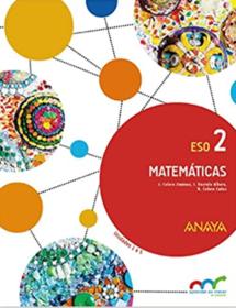 Libro Matematicas 2 ESO ANAYA