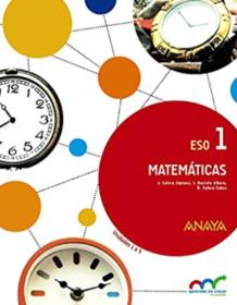 Libro de Matematicas 1 ESO ANAYA