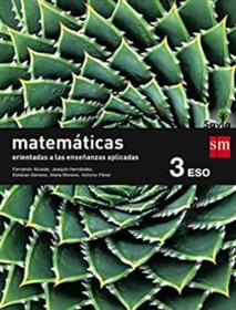Libro de Matematicas 3 ESO SM SAVIA Aplicadas