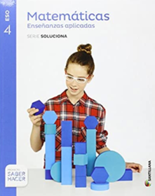 Libro de Matematicas Aplicadas 4 ESO Santillana