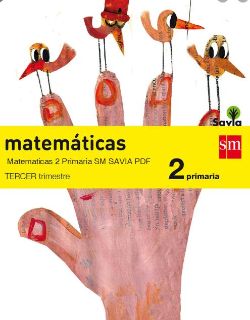 Matematicas 2 Primaria SM SAVIA Pdf