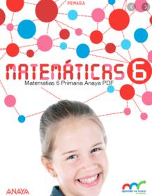 Matematicas 6 Primaria Anaya