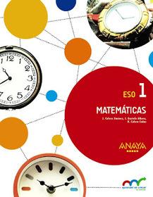 Solucionario Matemáticas 1 ESO ANAYA