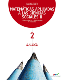 Solucionario Matematicas 2 Bachillerato ANAYA Ciencias Sociales