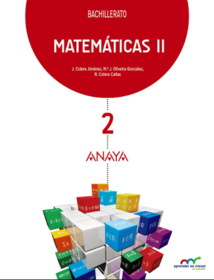 Solucionario Matematicas 2 Bachillerato ANAYA