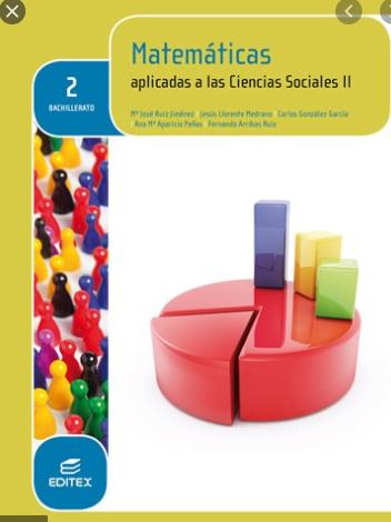 Solucionario Matematicas 2 Bachillerato Editex Ciencias Sociales