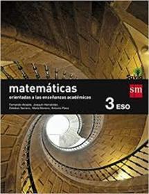 Solucionario Matematicas 3 ESO SM SAVIA ACADEMICAS