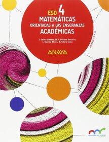 Solucionario Matematicas 4 ESO Anaya Academicas